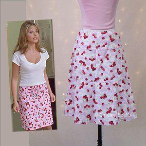 SOLD ☀️ Inspired By: Buffy TVS Cherry Skirt M RARE